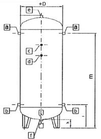 Zbiornik pionowy